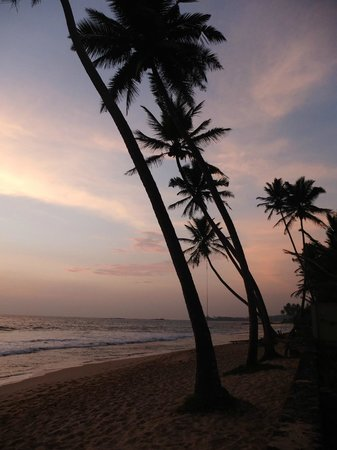 Ambalama Villa: Sunset