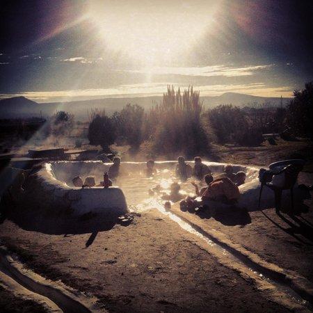 Viterbo, Italia: il Bagnaccio a Capodanno 2014