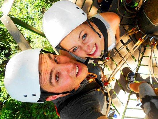 Tsitsikamma Canopy Tours: super sexy helmets