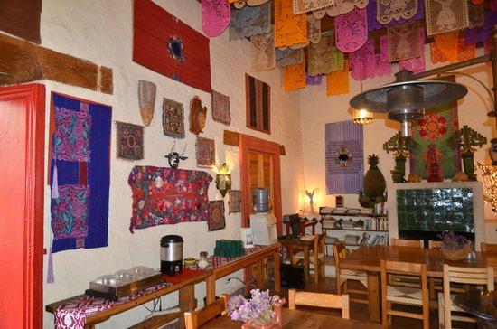 Hotel Casa Encantada: Desayuno