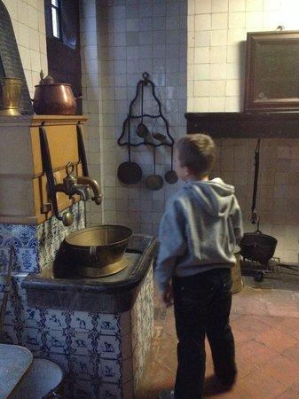 Museum De Lakenhal: keuken