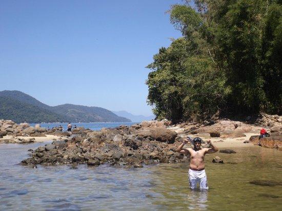 Lagoa Verde, Ilha Grande: meu amor na lagoa verde