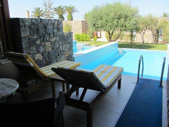 SENTIDO Blue Sea Beach : Номер 425 Junior Suite with Private Pool