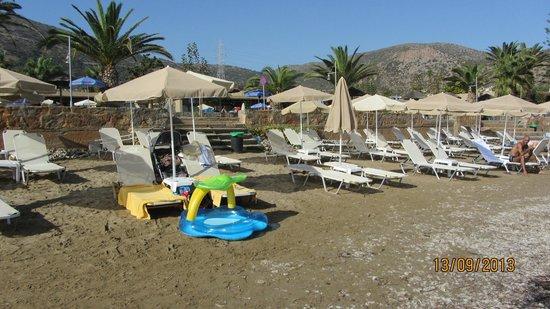 SENTIDO Blue Sea Beach : пляж