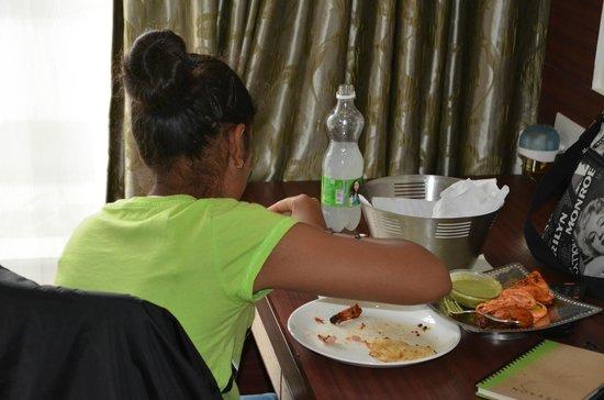 Hotel Mint Oodles: yummy food