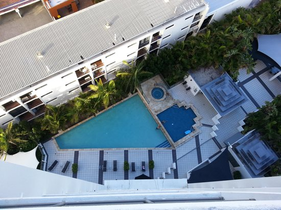 Ipanema Resort Apartments : Pool view from 1304