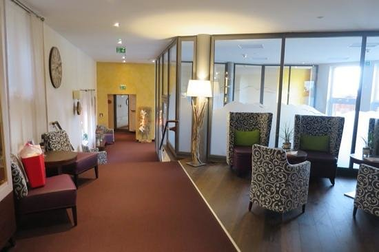 Wellnesshotel Riedlberg: Eingang zum Spa