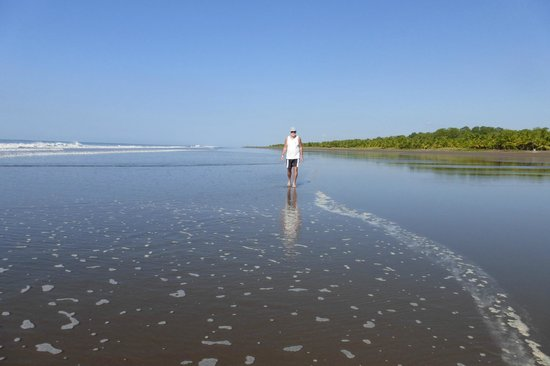 Beso del Viento: plage à perte de vue