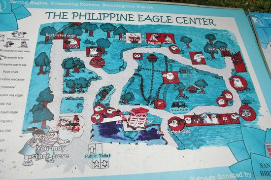 Park map picture of philippine eagle centre davao city tripadvisor philippine eagle centre park map gumiabroncs Image collections