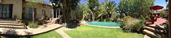 Guesthouse Terra Africa: Terra Africa House garden & pool