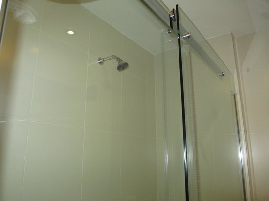Parliament Hotel: Not the best shower