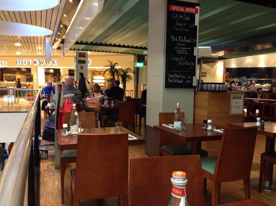 The Brasserie at Schiphol  Airport : Seats