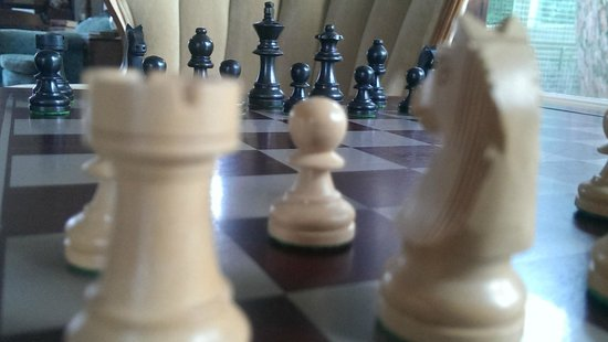 Bayside Bed and Breakfast: Chess anyone?