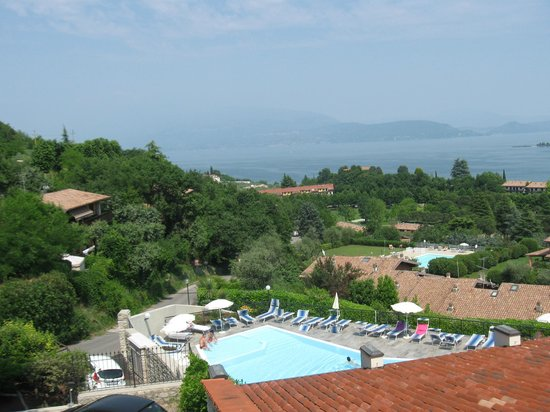 Hotel Belvedere: Panorama dall'Hotel : magnifico