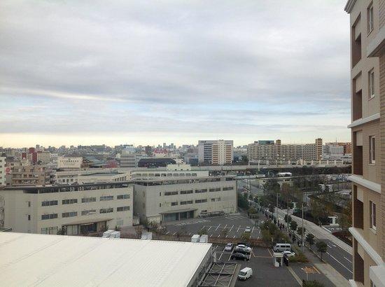 Hotel JAL City Haneda Tokyo : 9階からの眺め