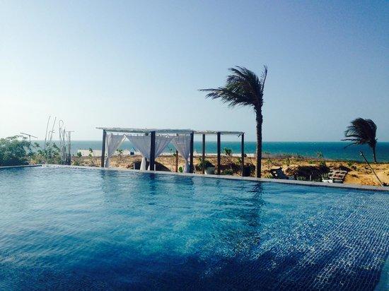 The Chili Beach Boutique Hotel & Resort: Área de piscina/praia