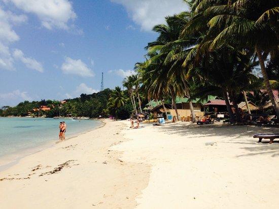Beyond The Blue Horizon Villa Resort: Strand in unmittelbarer Nachbarschaft zu Fuß vom Resort erreichbar