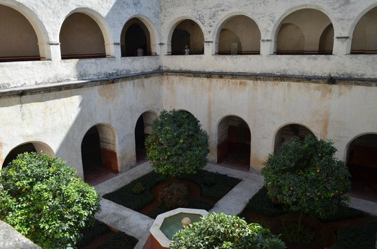 Tepoztlán, Mexico: Courtyard in the convent