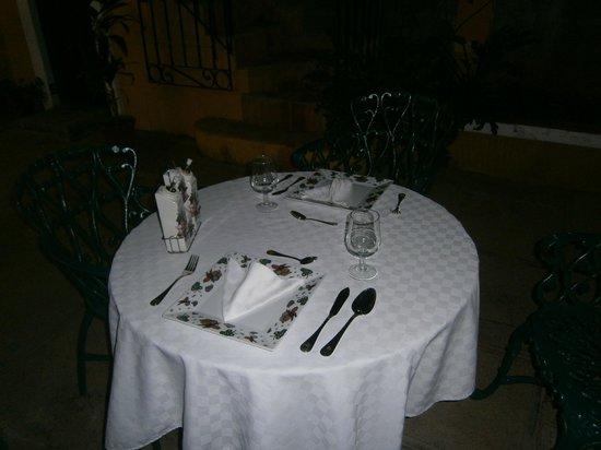 Hostal Las Margaritas: Cena