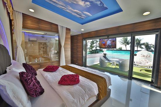 Hotel Jazira: Sea View Room