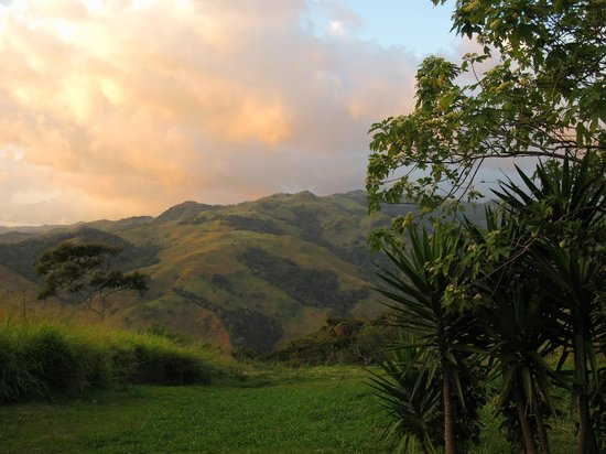 Cabins El Sol: Sunset view