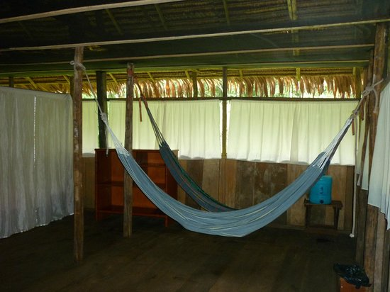 Amazonia Expeditions' Tahuayo Lodge: Lodge Principal Habitacion 16: Zona de hamacas