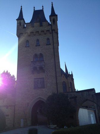 Castle of Hohenzollern: Castle view