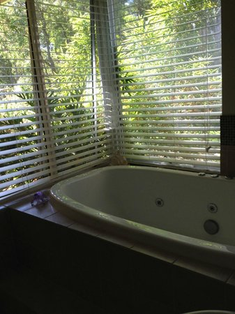 Margaret River Bed & Breakfast: Hot tub w a view
