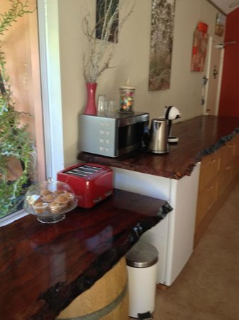 Margaret River Bed & Breakfast: The lil pantry where stock up the breakfast goodies till 10am