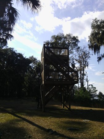 Fort McAllister State Park: Lookout Tower