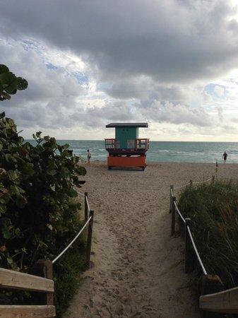 Westover Arms Hotel: praia