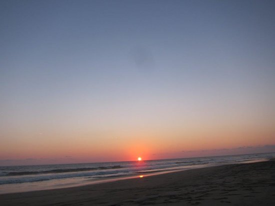 Playa Viva : sunset