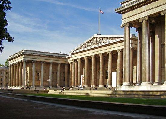 Bloomsbury: Fachada Museo Britanico