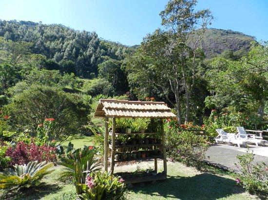 Pousada Sitio & Poesia : Jardim