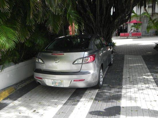 Dorchester Hotel: estacionamiento