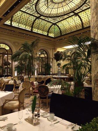 Palm Court: Still has Old World charm