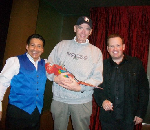 Nathan Burton Comedy Magic: with Nathan Burton after the show