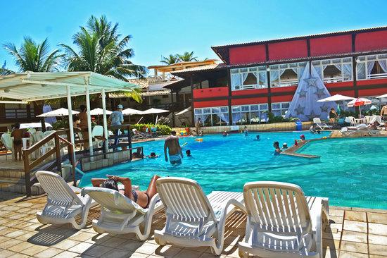 Piscina e restaurante picture of vilarejo praia hotel for Alberca restaurante
