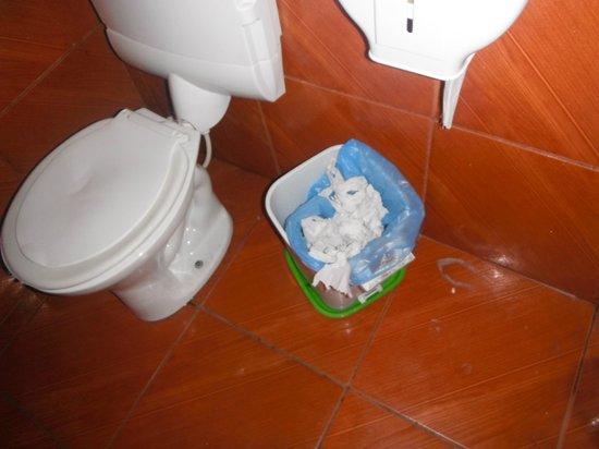 Rio Nature Adventure Hostel: Limpeza nota 0