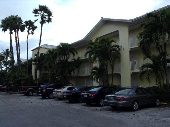 Bayside Inn Key Largo: aussenansicht