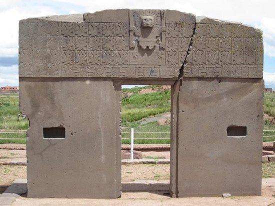 Tiwanaku : Puerta del Sol