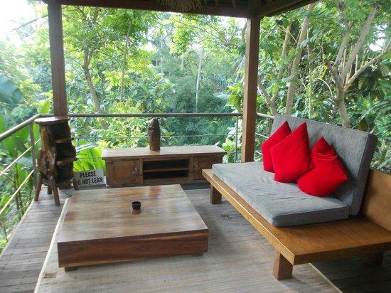 Luwak Ubud Villas: Living