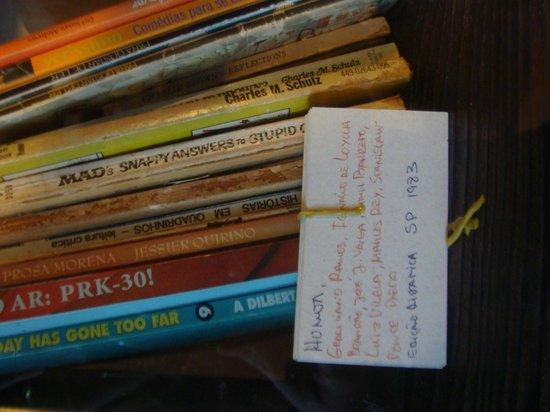 Hotel de Lencois: Mini biblioteca muito linda!