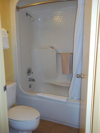 Rosen Inn at Pointe Orlando: Bathroom from Building D