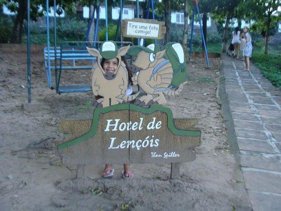 Hotel de Lencois: Parque infantil