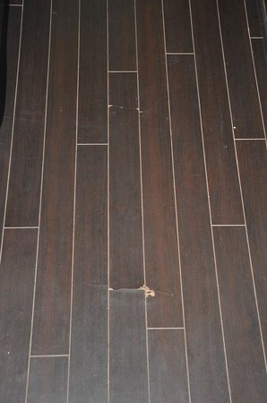 Golden Tulip Gurgaon: Damaged flooring, first visit