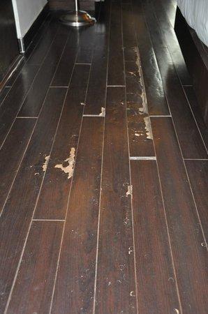 Golden Tulip Gurgaon: Damaged flooring, second visit