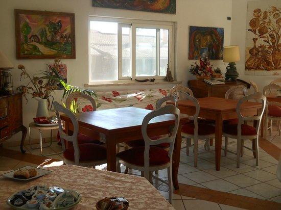 Valmontone B&B : sala colazione