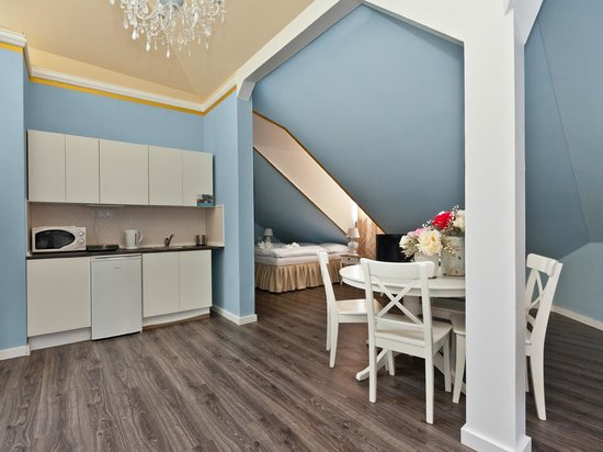 Cathedral Prague Apartments : Family Deluxe Studio