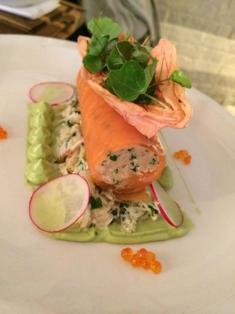 Bonnie Gull Seafood Shack: Salmon Ballotine